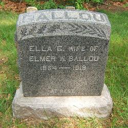 Ella Grant <I>Wilson</I> Ballou