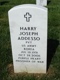 Pvt Harry Joseph Addesso