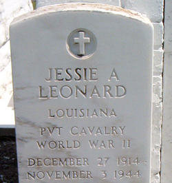 Jessie A. Leonard