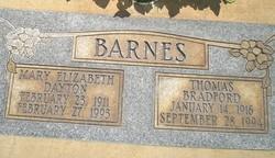 Mary Elizabeth <I>Dayton</I> Barnes