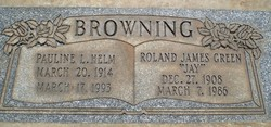 Roland James <I>Green</I> Browning