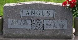 Clyde Alvin Angus