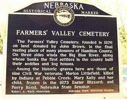 Farmers Valley Cemetery