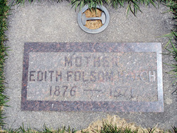 Edith <I>Folsom</I> Hatch