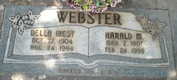 Della Marie <I>West</I> Webster