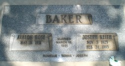Joseph Keith Baker