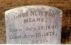 John Newton Means