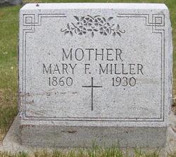 Mary Frances <I>Miller</I> Miller