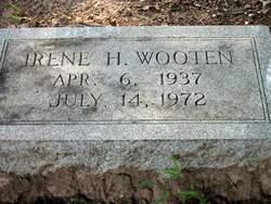 Velma Irene <I>Henry</I> Wooten