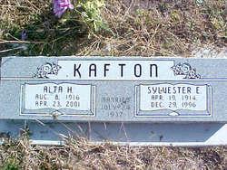 Alta Henrietta <I>Spangler</I> Kafton