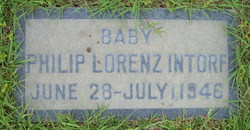 "Philip Lorenz ""Infant"" Intorf"