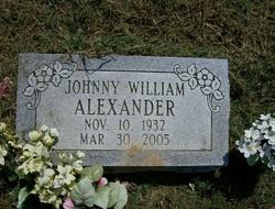 Johnny William Alexander