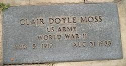Clair Doyle Moss
