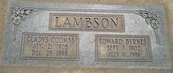 Edward Byrnes Lambson