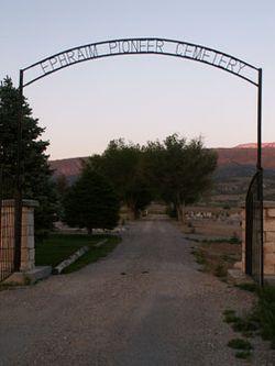 Ephraim Pioneer Cemetery