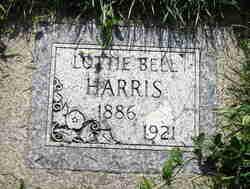 Lottie Belle <I>Phillips</I> Harris