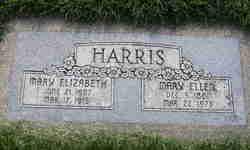 "Mary Elizabeth ""Bess"" Harris"