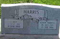 Esther <I>Parrish</I> Harris