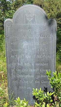 Elder Abner Ballou, I