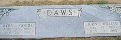 Myra <I>Goode</I> Daws
