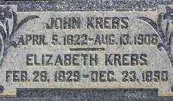 "Elizabetha ""Elizabeth"" <I>Probst</I> Krebs"