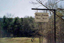 Keefers Cemetery of Horse Valley