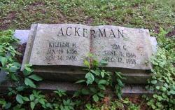Ida G. <I>Jacobus</I> Ackerman