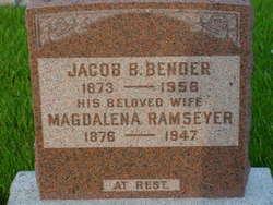 Magdalena <I>Ramseyer</I> Bender