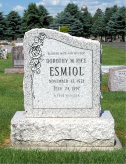 Dorothy M. <I>Rice</I> Esmiol