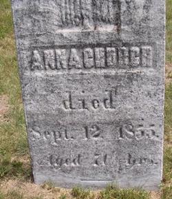 Anna <I>Warner</I> Church