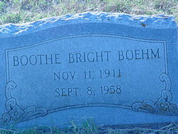 Evelyn Boothe <I>Bright</I> Boehm