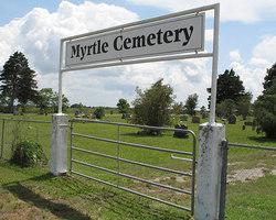 Myrtle Cemetery Rock Island Texas