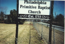 Philadelphia Primitive Baptist Church Cemetery