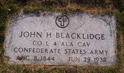 John Henry Blacklidge