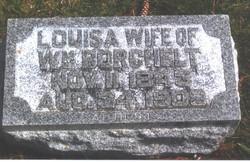 Louisa <I>Rahe</I> Borchelt