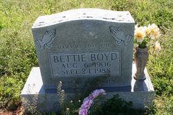 Bettie <I>Caldwell</I> Boyd
