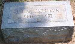 Julian Carr Bain