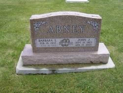 Barbara L <I>Baxter</I> Abney