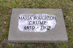 Maria Edgworth <I>Boughton</I> Crump
