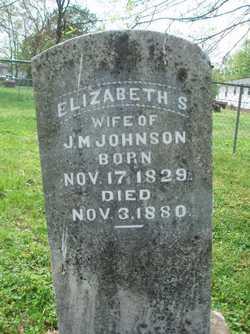 Elizabeth Susan <I>Bettis</I> Johnson