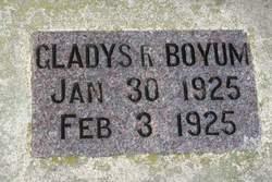 Gladys Ruth Boyum