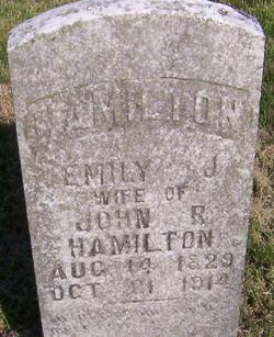 Emily Janie <I>Wall</I> Hamilton