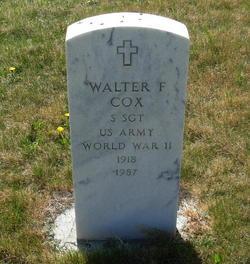 Walter F. Cox