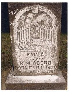 Emma <I>Boatman</I> Acord