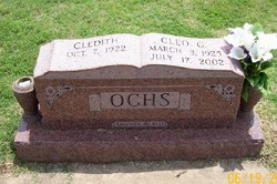 Cleo George Ochs