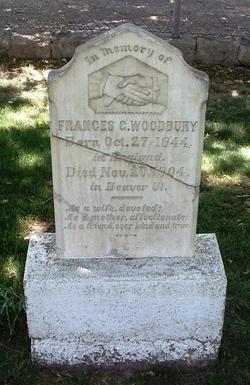 Frances <I>Goddard</I> Woodbury