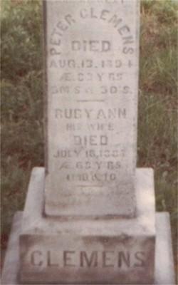 Ruby Ann <I>Blasier</I> Clemens
