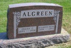 Freda C <I>Jensen</I> Algreen