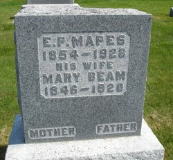 Mary <I>Beam</I> Mapes