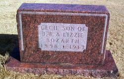 Cecil Bozarth